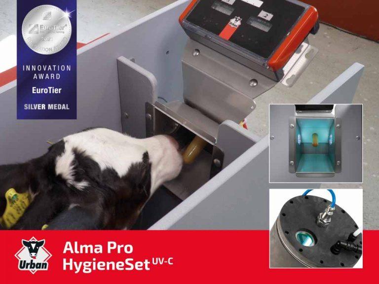 Urban Alma Pro HygieneSet UV-C – Keimfreie Kälbertränken dank UV-C-Desinfektion